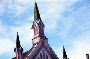 Лютеранская кирха. 2000