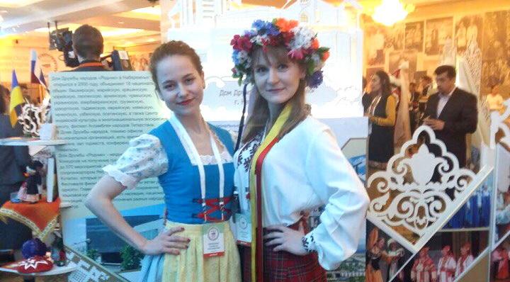 Немецкая община Татарстана приняла участие в Съезде народов РТ