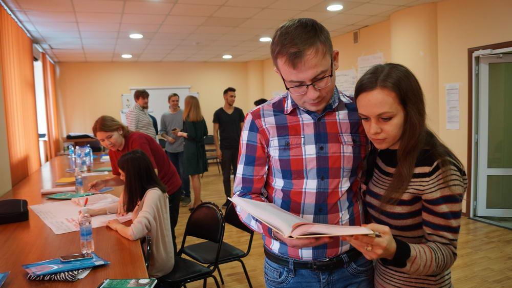 Рабочая встреча творческой молодёжи в Саратове