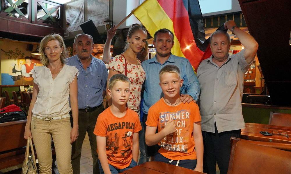 Германский футбол в Казани