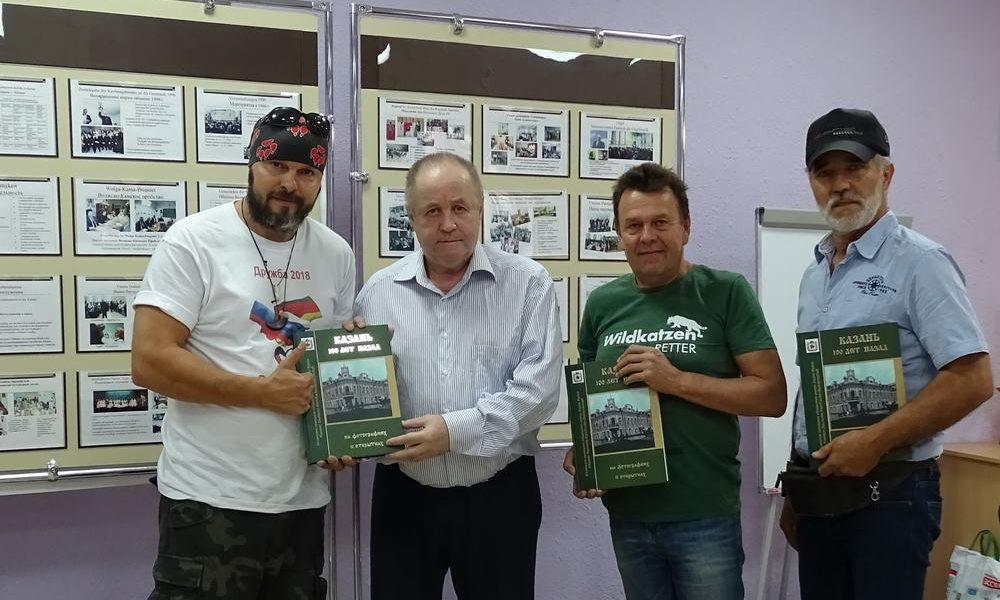 Участники автопробега снова в Казани