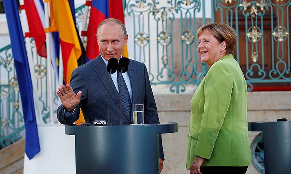 Пресса Европы удивлена деловитостью переговоров лидеров России и Германии