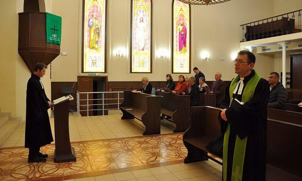 Лютеранское богослужение в Казани 23.09.2018