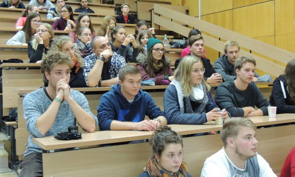 Молодежная группа в Немецком Доме