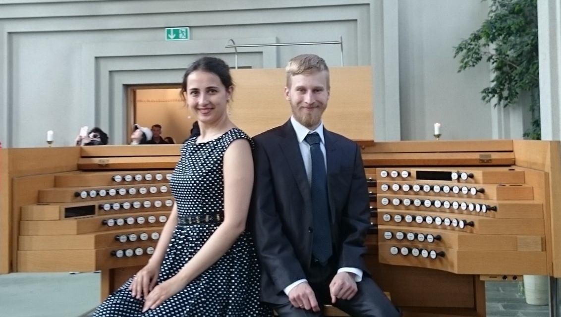 Выступление органного дуэта в ЕЛЦ св. Екатерины
