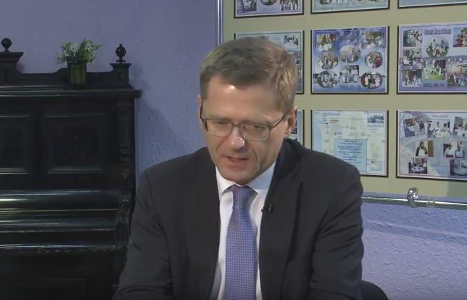 Томас Граф в эфире передачи «Национальный вопрос и — ответ»