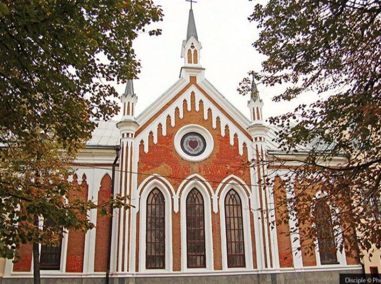 Освящения Лютеранской кирхи в Казани