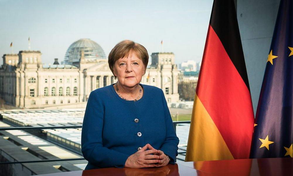 Обращение канцлера Меркель
