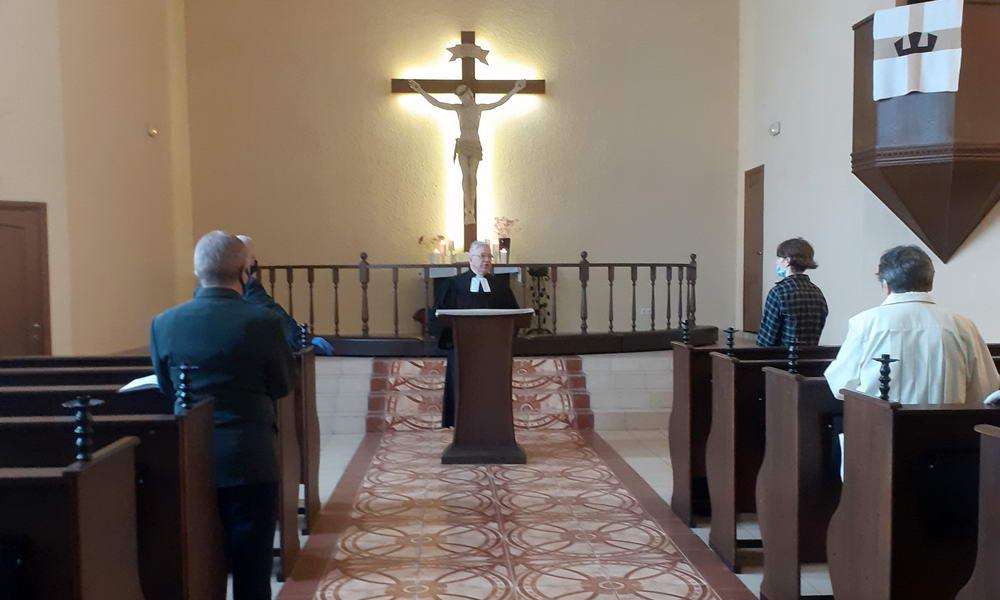 Лютеранское богослужение 07.06.2020