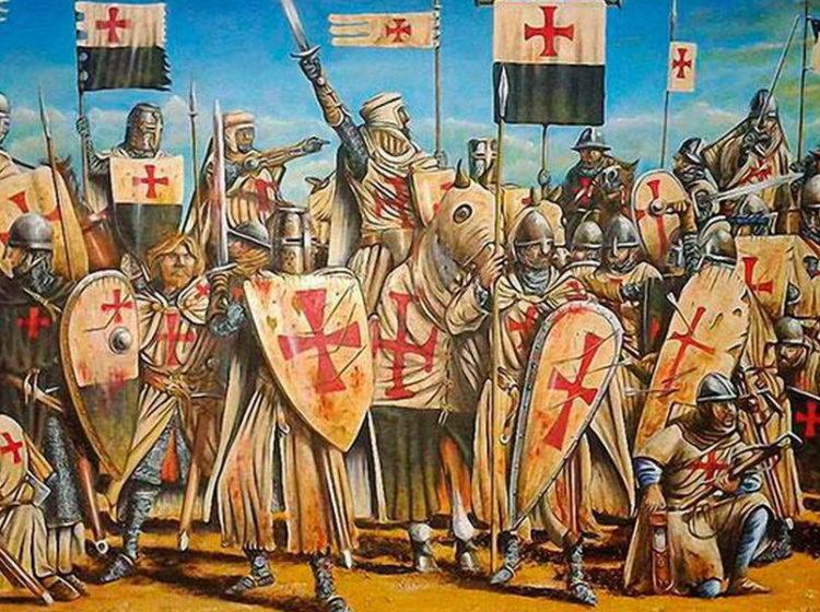 Мы были в крестовом походе