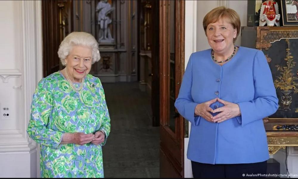 Канцлер Меркель последний раз прибыла в Британию