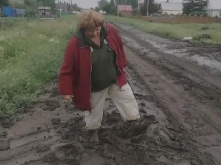 Жители омской деревни обратились к Меркель, а их отправили в МСНК