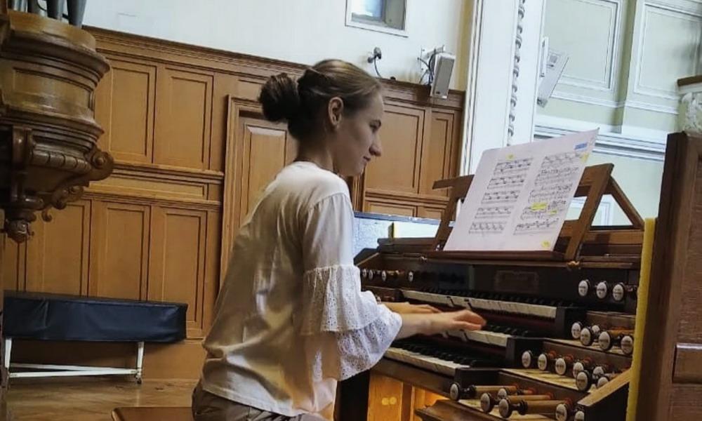 Страницы русской и немецкой органной музыки